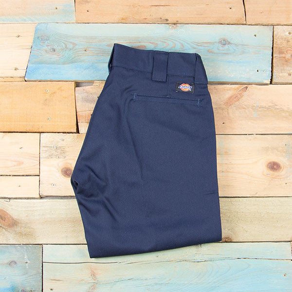 Dickies 873 Slim Straight Work Pant - Dull Navy