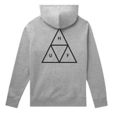 HUF Essentials Triple Triangle Pullover Hoodie - Grey Heather