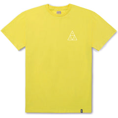 HUF Essentials TT S/S Tee - Aurora Yellow