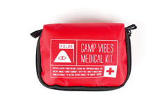 Poler Stuff Camp Vibes Medical Kit - Red