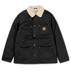 Carhartt WIP Fairmont Coat - Black Rigid