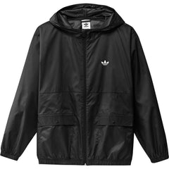 Adidas Light Windbreaker Jacket - Black/Off White