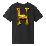 Huf Greatest Hits S/S T-Shirt - Black