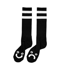 Polar Happy Sad Classic Socks - Black/White