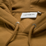 Carhartt Hooded Chase Sweat  -Hamilton Brown/Gold