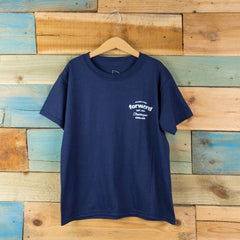 Forw4rd Seaside Living Youth T-shirt - Navy