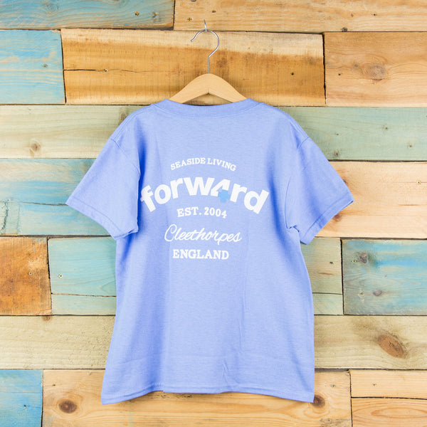 Forw4rd Seaside Living Youth T-shirt - Carolina Blue