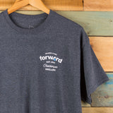 Forw4rd Seaside Living T-shirt - Dark Grey