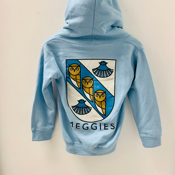 Forw4rd Meggies Youth Hoodie - Light Blue
