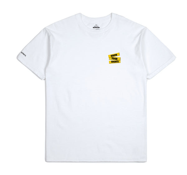 Brixton X Strummer Know Your Rights S/S Tee - White