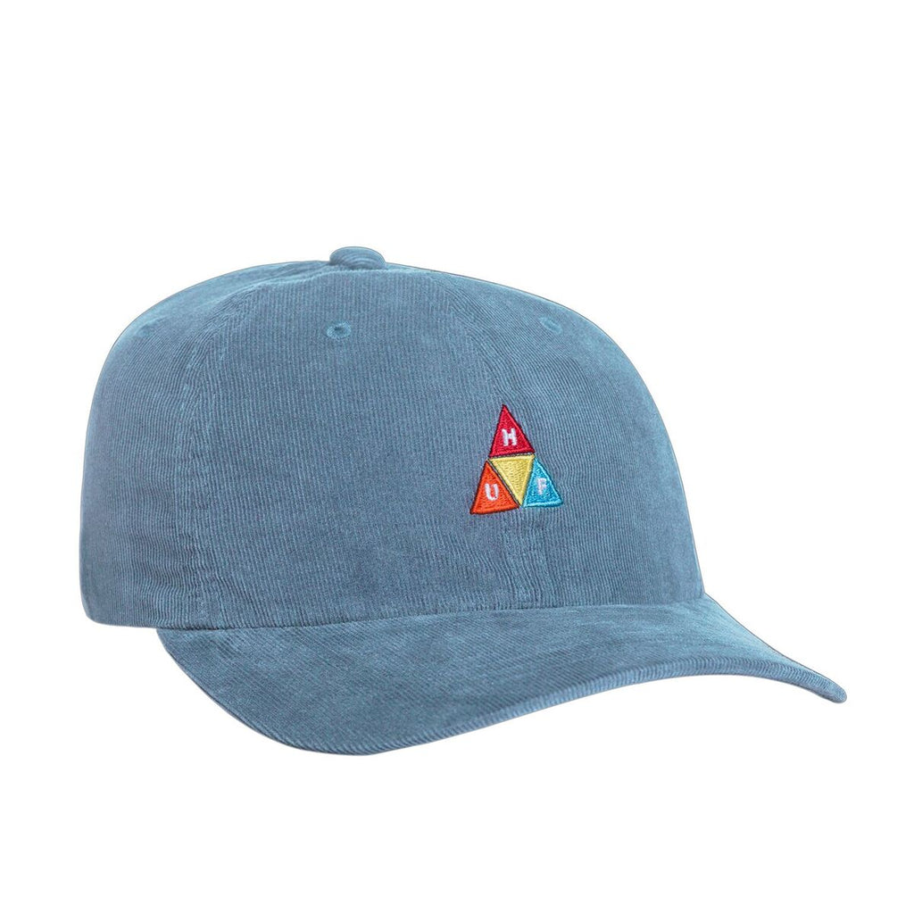 d6ce3cb0315 Description. HUF Corduroy Triple Triangle CV 6 Panel Hat - Cloud Blue