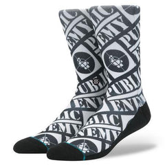 Stance - Public Enemy - Black