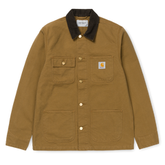 Carhartt Michigan Chore Coat - Hamilton Brown/Tobacco Rinsed