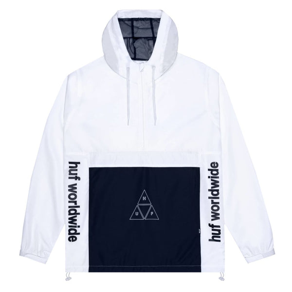 HUF Peak 3.0 Anorak Jacket - White
