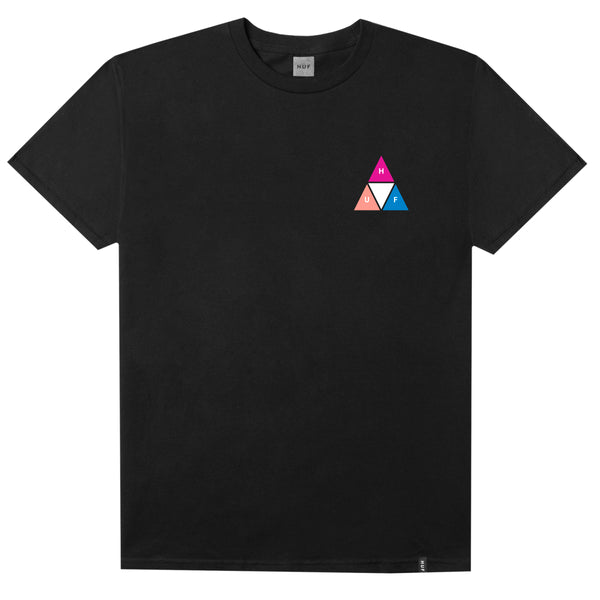 Huf Prism Triple Triangle T-Shirt - Black