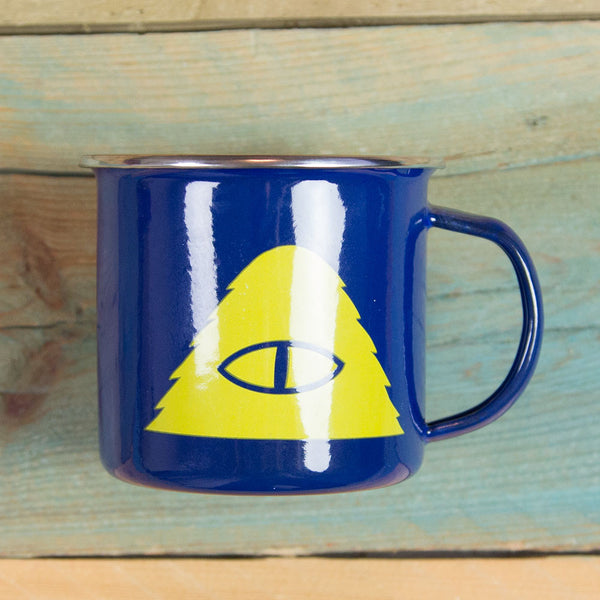 Poler Stuff Camp Vibes Mug - Royal Blue