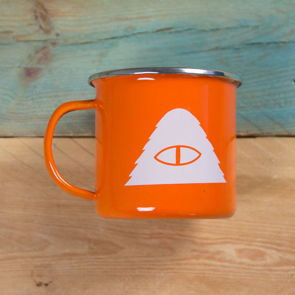Poler Stuff Camp Vibes Mug - Burnt Orange