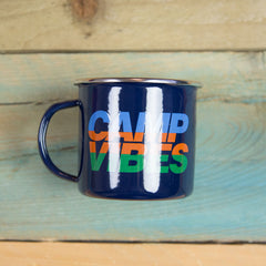Poler Stuff Camp Vibes Mug - Navy