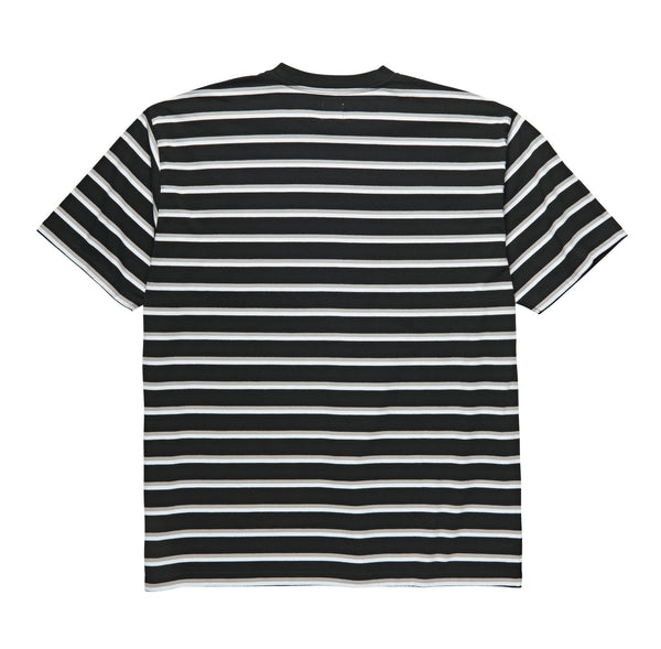 Polar Skate Co - Stripe Pocket Tee - Black