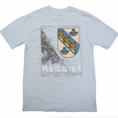 Forw4rd Meggies Map - Light Blue