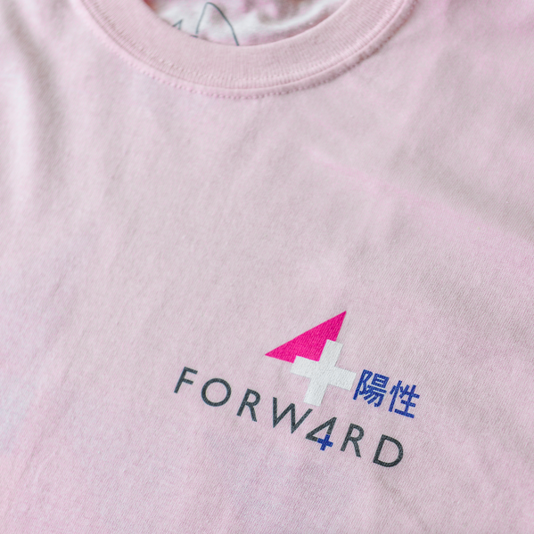 Forw4rd - Positivity Yes - Light Pink