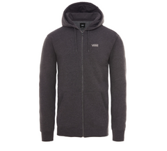 Vans Basic Zip Hoodie - Black Heather