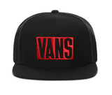 Vans New Stax Snapback - Black/Red