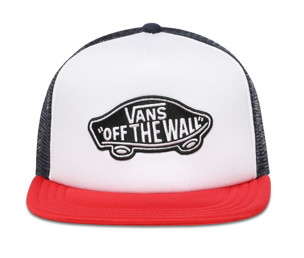 Vans Classic Patch Trucker - Racing Red-White
