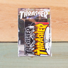 Thrasher Sticker Pack Assorted 10 Pack