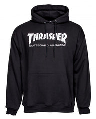 Thrasher Logo Hoody - Black