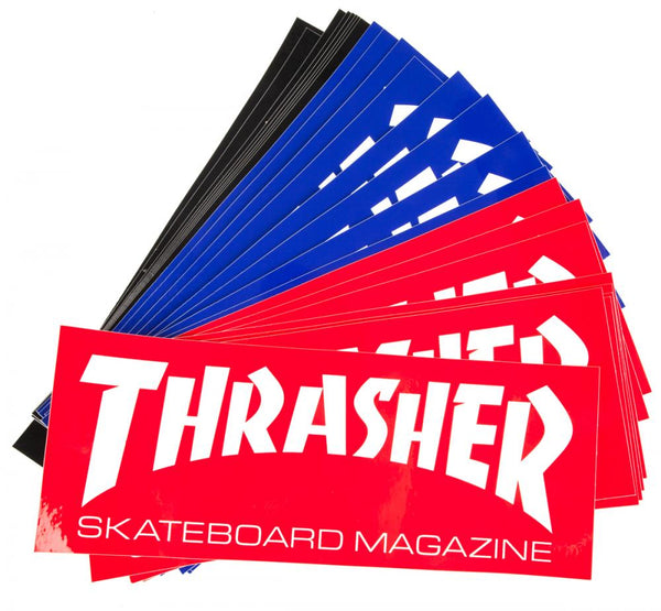 Thrasher Skate Mag Sticker.