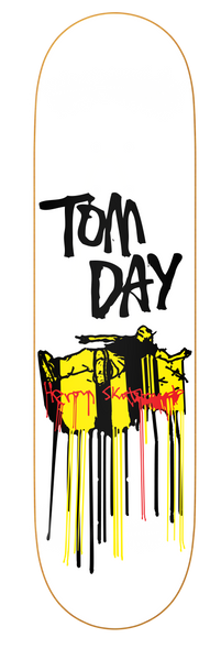 Heroin Tom Day Drips deck 8.25""