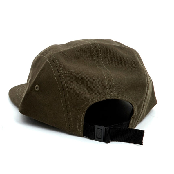 Thrasher 5 Panel Hat - Army Green