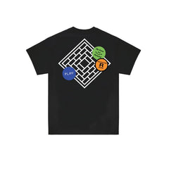 TNSC - Tapes Shortsleeve T-Shirt - Black