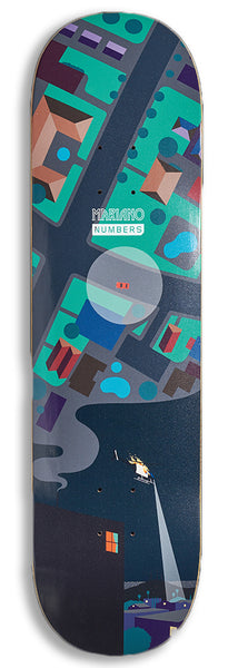 Numbers (Series One) Mariano Deck 8.5""