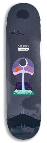 Numbers (Series One) Miles Silvas Deck 8.28""