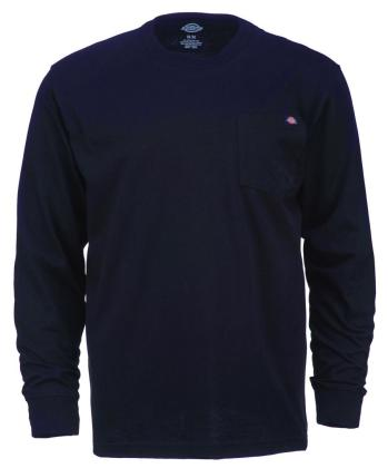 Dickies Pocket Tee L/S - Black