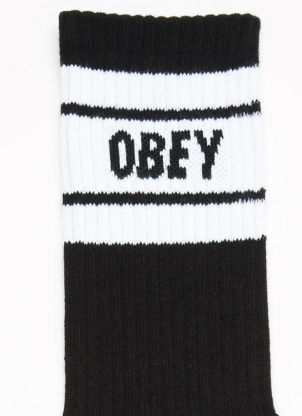 Obey Cooper II Socks - Black/White