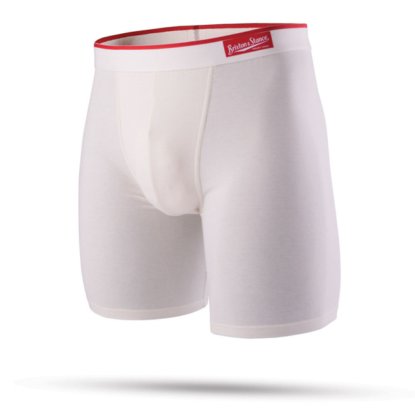 Stance X Brixton - The Del Mar -Boxer Brief - Off White