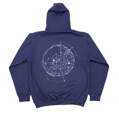 Forw4rd Visible Heavens Hoody - Navy Blue