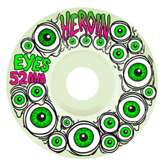 Heroin Eyes Wheels 52mm