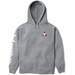 HUF Prism Triple Triangle Pullover Hoodie - Grey Heather