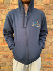 Forw4rd Zip Meggies Hoody - Navy