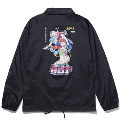 Huf Chun-Li & Cammy Coach Jacket - Black