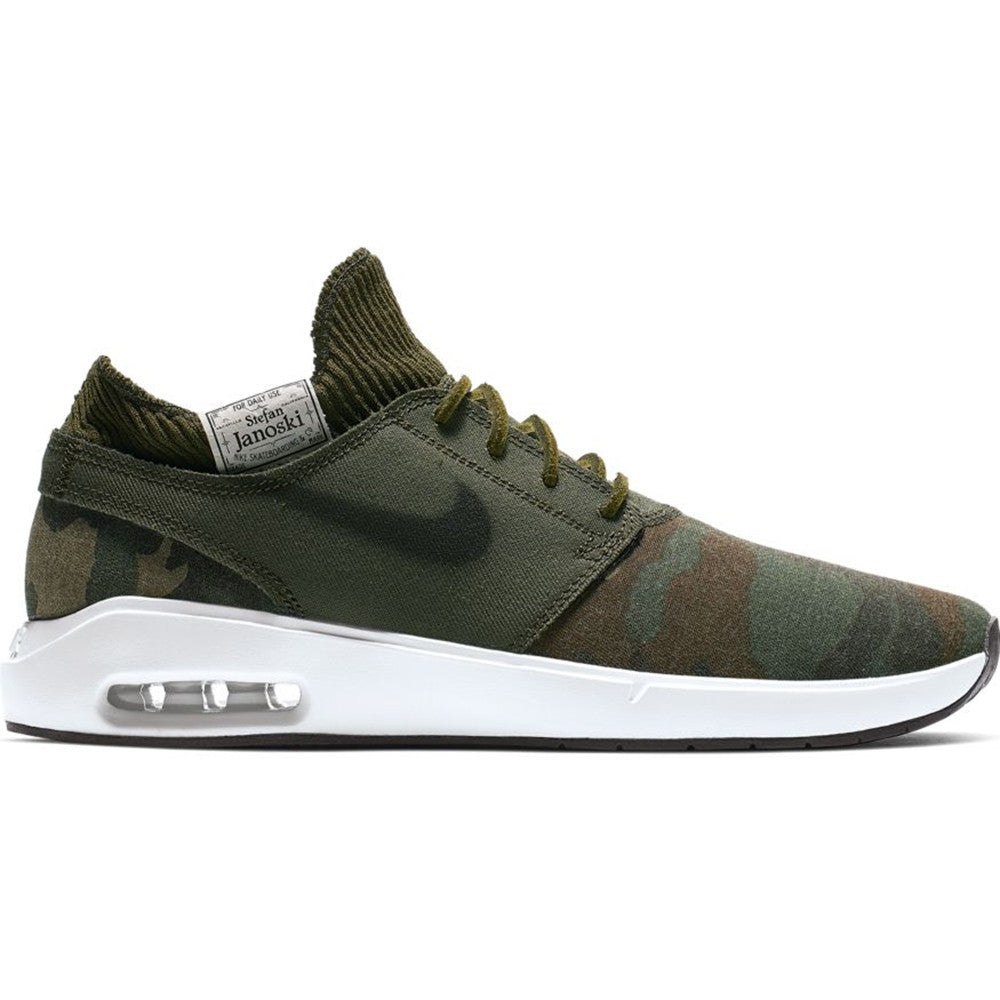 sports shoes 0d781 e4014 Nike SB Air Max Janoski 2 Prm - Iguana  Black-Cargo Khaki – Forw4rd
