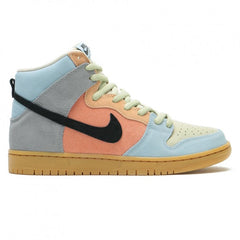 Nike SB Dunk High Pro Shoes - Particle Grey / Black - Terra Blush