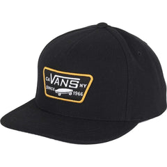 Vans Full Patch Snapback - Black/Gold