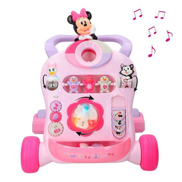 Looprek met wieltjes Disney Baby Minnie & Friends Roll n'Go Walker