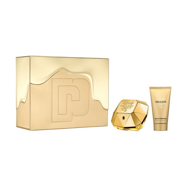 Parfumset voor Dames Lady Million Paco Rabanne (2 pcs)