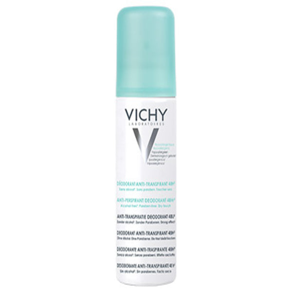 Deodorant Spray DEO Vichy 95417 (125 ml x 2)